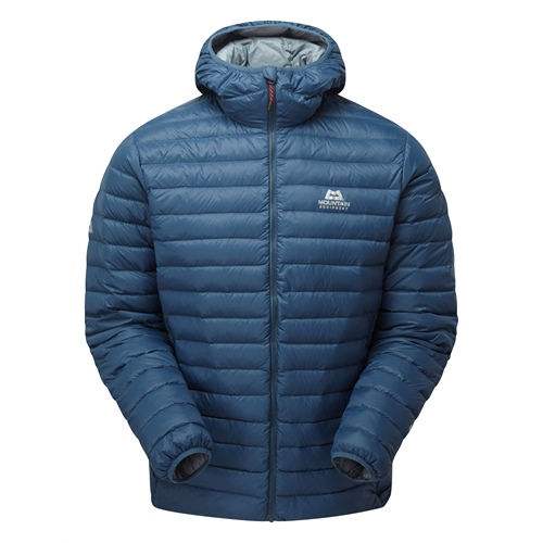 Bunda Mountain Equipment Arete Hooded Jacket | Denim Blue S
